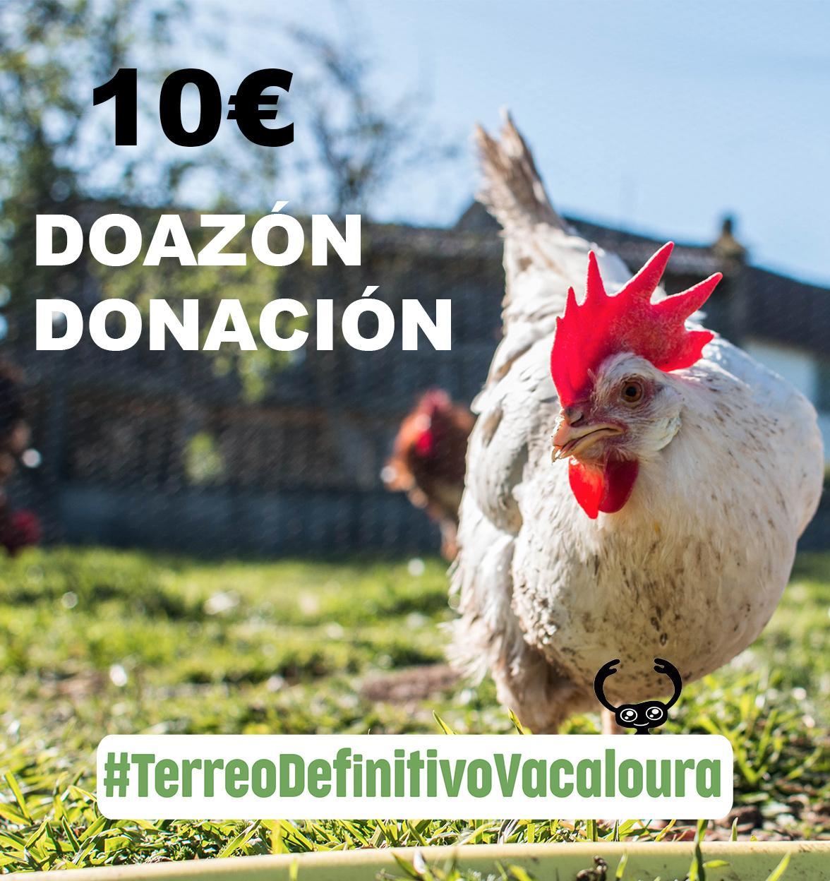 doa 10 euros á campaña do terreo definitivo para o santuario