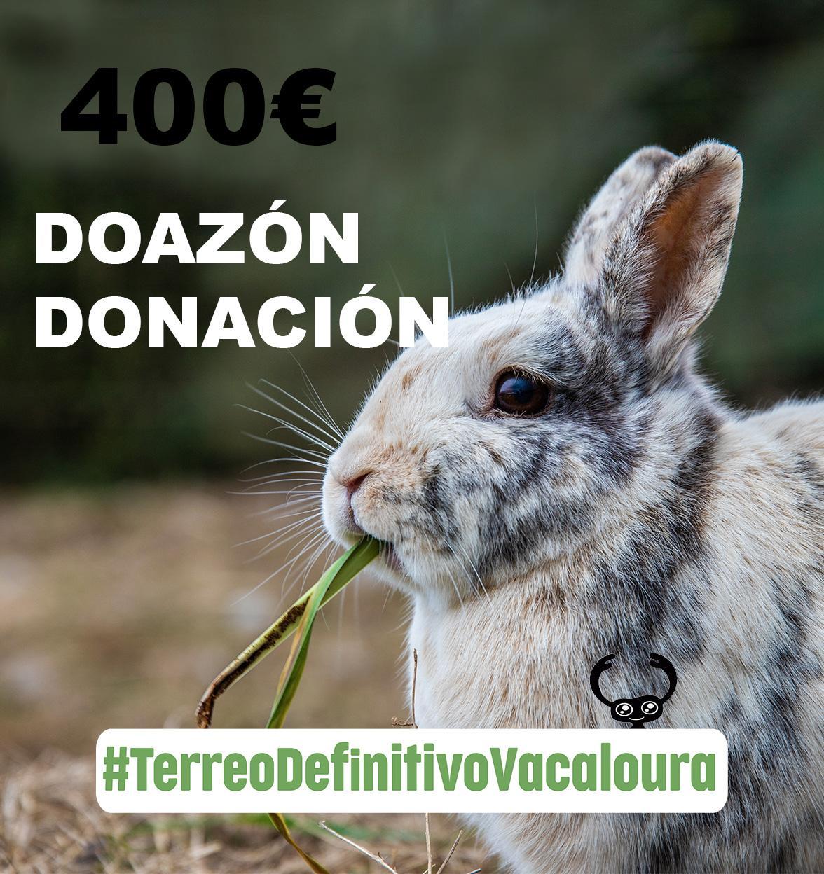doa 400 euros á campaña do terreo definitivo para o santuario